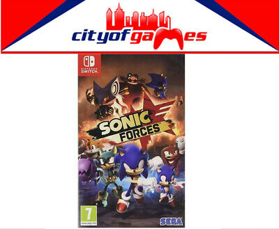AU39.95 • Buy Sonic Forces Nintendo Switch Game Brand New & Sealed In Stock