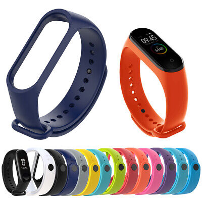 $9.63 • Buy Silicone Bracelet Replacement Wristband Mi Band 4 3 For Xiaomi Mi Band 4 3