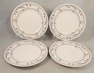 $22 • Buy Set Of 4 Mikasa Annette Bread And Butter Plates