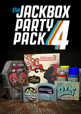 AU44.99 • Buy The Jackbox Party Pack 4 PC STEAM GAME Digital Download Code (no Disc) BRAND NEW