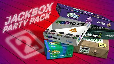 AU33.99 • Buy The Jackbox Party Pack 2 PC STEAM GAME Digital Download Code (no Disc) BRAND NEW