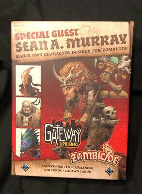 AU120 • Buy ZOMBICIDE GREEN HORDE Expansion Set, Sean A. Murray Guest Box 3x Heroes 1x Necro