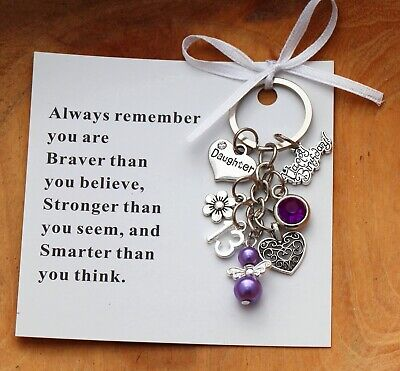 13th Birthday Gift Keyring  - Sister, Daughter, Niece, Friend + Card  • 3.99£