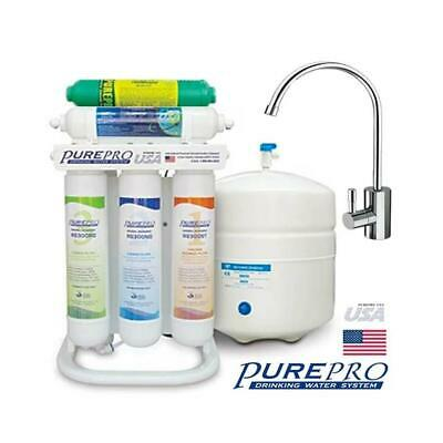 Pure-Pro ERS-106 +Alkaline 6-Stage RO Drinking Water Filter System • 339.99£