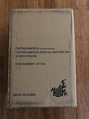 $ CDN776.88 • Buy RARE HOT TOYS MMS180 CAPTAIN AMERICA RESCUE UNIFORM VERSION Exclusive 1/6 MISB