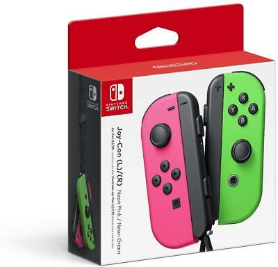 $75.99 • Buy Joy-Con (L/R) - Neon Pink / Neon Green - Nintendo Switch (Brand New)