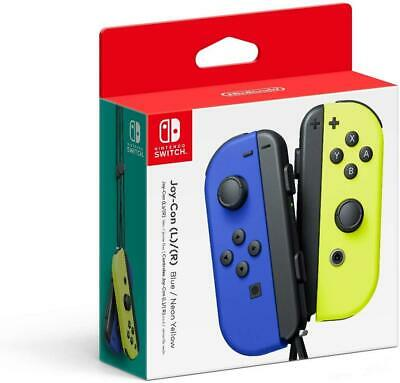 $75.99 • Buy Joy-Con (L/R) - Blue/ Neon Yellow - Nintendo Switch (Brand New)
