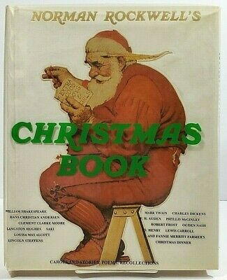 $ CDN26.65 • Buy Norman Rockwell Christmas Book Hardcover 1977 With Dust Jacket