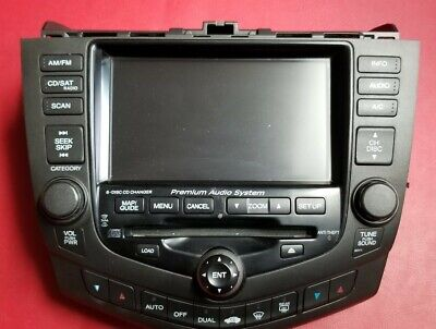 $48.99 • Buy 2003 Honda Accord Oem Stereo Front Bezel With Lcd