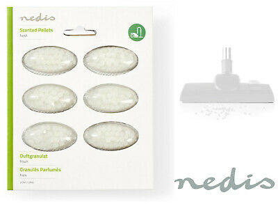 6 X Nedis Universal Vacuum Pearls Fresh Air Freshener Fragrance Hoover Bag Scent • 2.49£