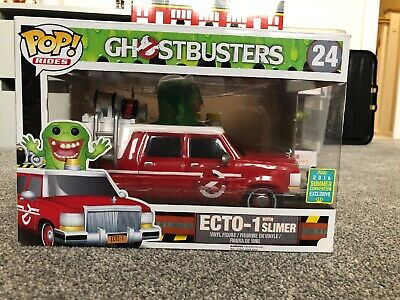 Ghostbusters 24 (2016) - Ecto 1 Red With Slimer SDCC 2016 Exclusive Pop! Ride • 29.99£