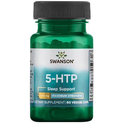 $ CDN28.18 • Buy 5-HTP Sleep Support Swanson- 60 Veggie Caps - 200 Mg Max Strength
