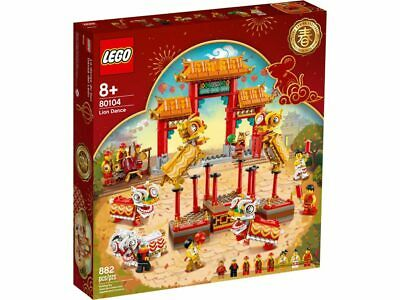 $98.85 • Buy LEGO Chinese New Year 80104 Lion Dance Limited Edition