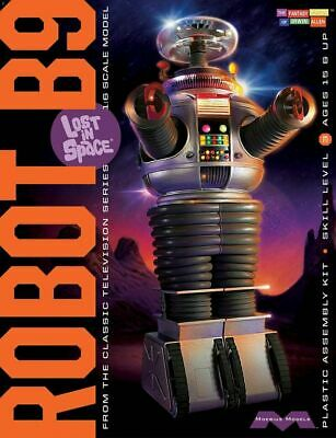 AU108.95 • Buy LOST IN SPACE 1/6 ROBOT B9 Plastic Model Kit SEALED MIB MOEBIUS MODELS MM939
