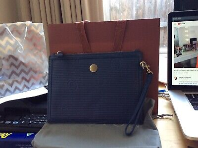 AU38 • Buy Oroton Clutch Bag Muted Blue New Unwanted Gift