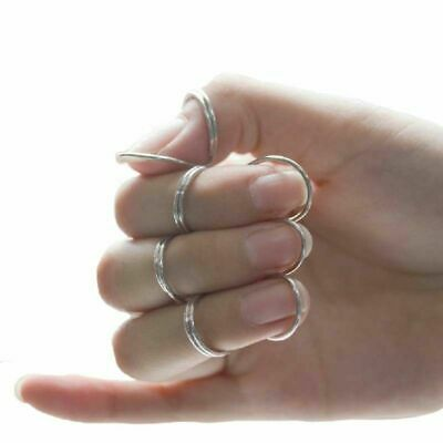 $ CDN7.40 • Buy 4 Pcs Guitar Pick Butterfly Finger Metal Classical Finger Bass Accessories