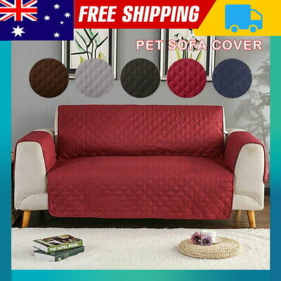 AU19.59 • Buy 1 2 3 Seater Stretch Sofa Cover Couch Lounge Recliner Chair Slipcover Protector