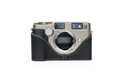 $ CDN54.68 • Buy Genuine Real Leather Half Camera Case Bag Cover For Contax G2 Film Camera