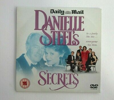 Daily Mail DVD, Secrets,Danielle Steels DVD,Romance Drama Movie,Film,Rating 15 • 1£