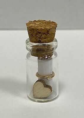 *Personalised Message In A Bottle Romantic Easter Birthday Valentines Gift Idea* • 1.79£