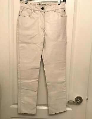 $ CDN64.99 • Buy Danier Pants BUTTER SOFT LEATHER NEW With Tags SZ2