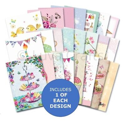 Hunkydory The Little Book Of Sweet Treats Sample Pack 24 Sheets X A6 150gsm • 2.99£