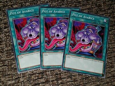 Yu-gi-oh Card 3x Mixed Sets / Editions Pot Of Avarice Common 1st Edition • 4.20£