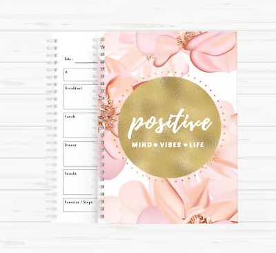 Motivational Diet Food Diary Weight Watchers Slimming World Planner Weight Loss • 10£