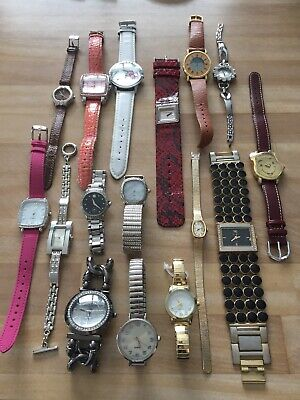 $ CDN14 • Buy Vntg-mod Watches Lot For Repair Repurpose Parts Craft Etc. Timex, Guess, Swiss +