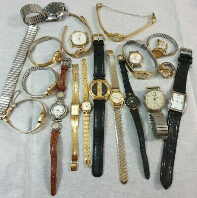 $ CDN24.63 • Buy Mixed Lot Of 17 Vintage Watches Free Shipping!!!