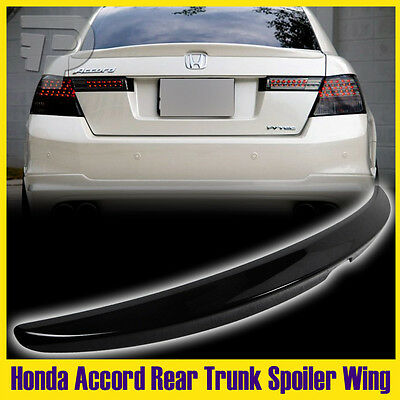 $ CDN120.56 • Buy FOR HONDA Accord Sedan EX LX Rear Trunk Spoiler Wing Black 08-12 Painted #B92P