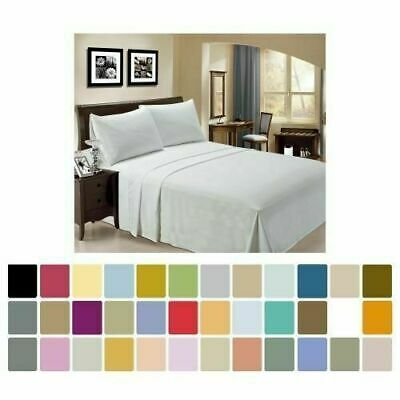 AU29.85 • Buy Single/Double/Queen/King Size Ultra SOFT - 4 Pieces FITTED Sheet Set Bed New