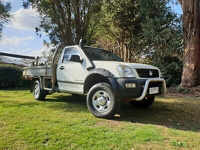 AU3000 • Buy 2006 Holden Rodeo Diesel 4x4 Cab Chassis Ute