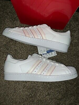 $ CDN35 • Buy Adidas Originals Superstar 80's CNY DB2569 WhiteScarlet Chinese New Year 10.5