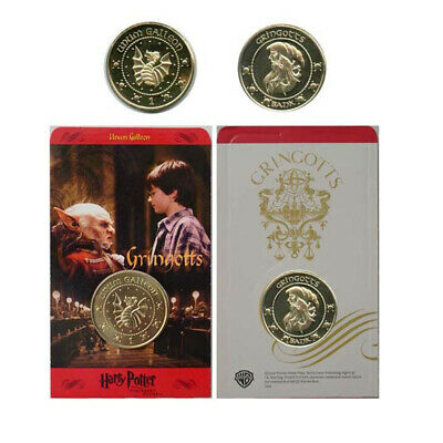 $14.95 • Buy Original Harry Potter Movie Galleon Coin NEW!! Not A Reproduction.