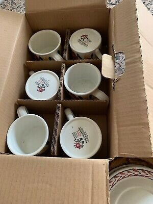 6 X Cup And Saucers Portmeirion Welsh Dresser  • 45£
