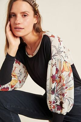 $ CDN111.41 • Buy Anthropologie New Raye Printed Top By Tiny Size XL NWT