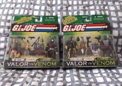 $ CDN34.86 • Buy GI Joe 25th Valor Venom Stalker Cobra Comm. Duke FireFly ARAH Action Army Lot
