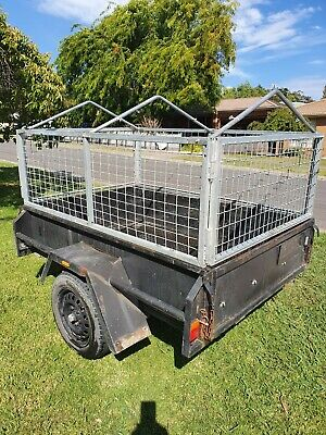 AU750 • Buy 6x4 Cage Trailer Canvas Cover