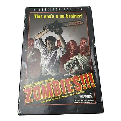 £19.99 • Buy Zombies!!! Director's Cult Board Game By Twilight Creations Wide-screen Edition