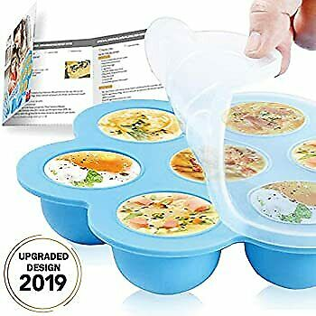 $18.59 • Buy Silicone Egg Bites Molds For Instant Pot Accessories - Reusable Baby Food Storag