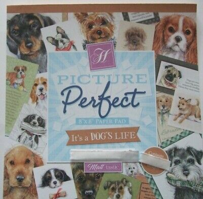 Picture Perfect Hunkydory Its A Dogs Life 12 Sheets See Pictures See Description • 3.85£