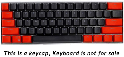 £17.60 • Buy Sunzit Keycaps, 61 Keycaps PBT Keycaps Backlight Two-Color Mechanical Keyboard /