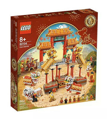 $139.86 • Buy NEW LEGO Chinese New Year Lion Dance 80104 Limited Edition NIB Fast Ship