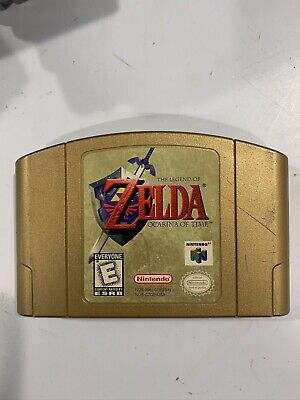 $59.99 • Buy The Legend Of Zelda: Ocarina Of Time Gold Collector's Edition (Nintendo 64, N64)