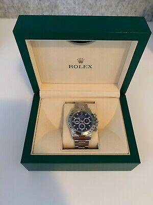 AU27000 • Buy Rolex Stainless Steel Daytona Cosmograh With Black Dial On Oyster Bracelet