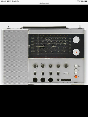Braun T1000 Dieter Rams Radio Fully Working Just Been Fully Serviced • 900£