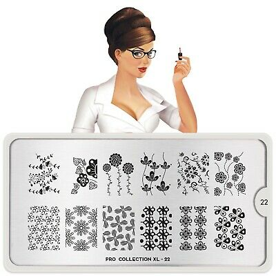 $9.99 • Buy MoYou-London Nail Art Stamping Plate Pro XL Collection 22