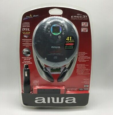 Aiwa Personal Portable CD Player With Car Kit (XP-V710CYUCB3TC) • 299.99£