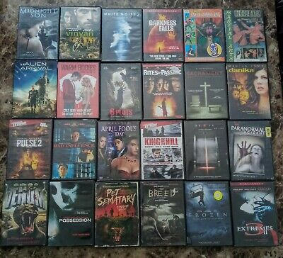 $ CDN24.99 • Buy Horror Lot Of 24 DVD's ----Home Isolation Special----------Region 1